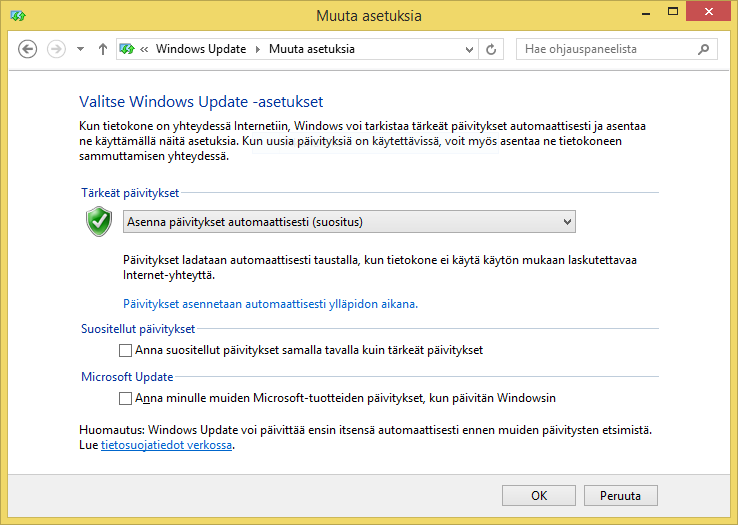sormenjälkitunnistin windows 10